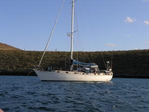 Vessel Wyntersea anchored at Los Muertos, Mexico